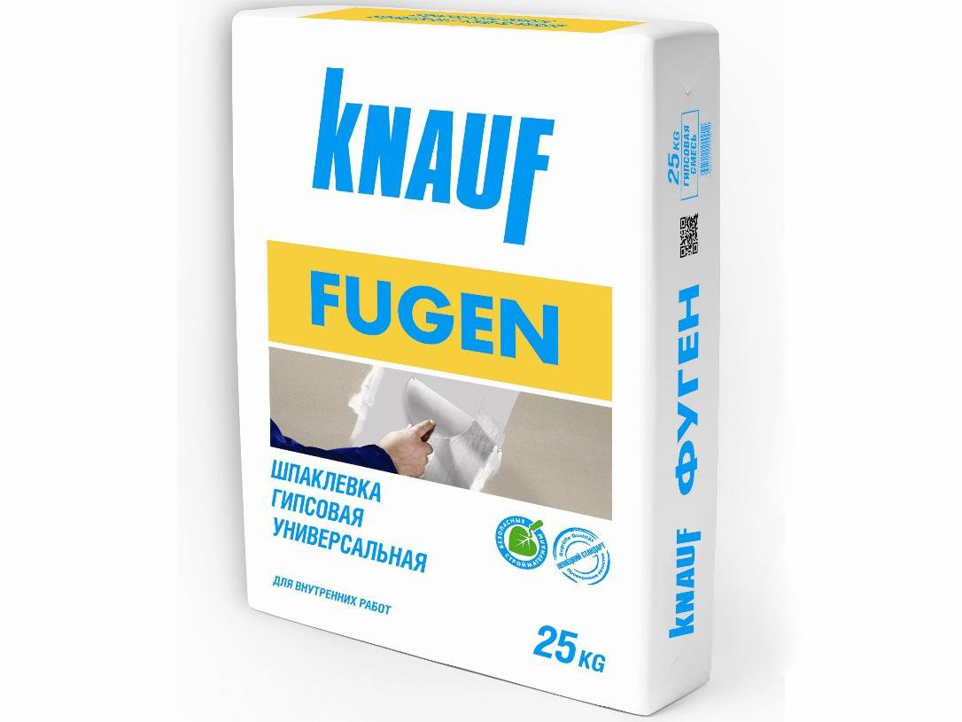Шпатлевка Knauf-Фюгенфюллер Фуген (Фугенфюллер) для ГКЛ