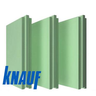Пазогребневая плита Кнауф ПГП влагостойкая 667х500х80 мм