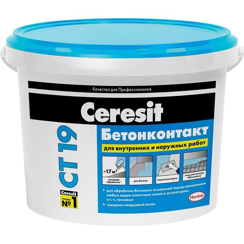 Бетонконтакт Ceresit CT19, 15 кг