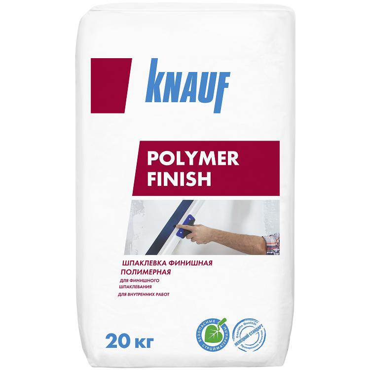 Шпатлевка финишная полимерная Knauf Полимер Финиш 20 кг