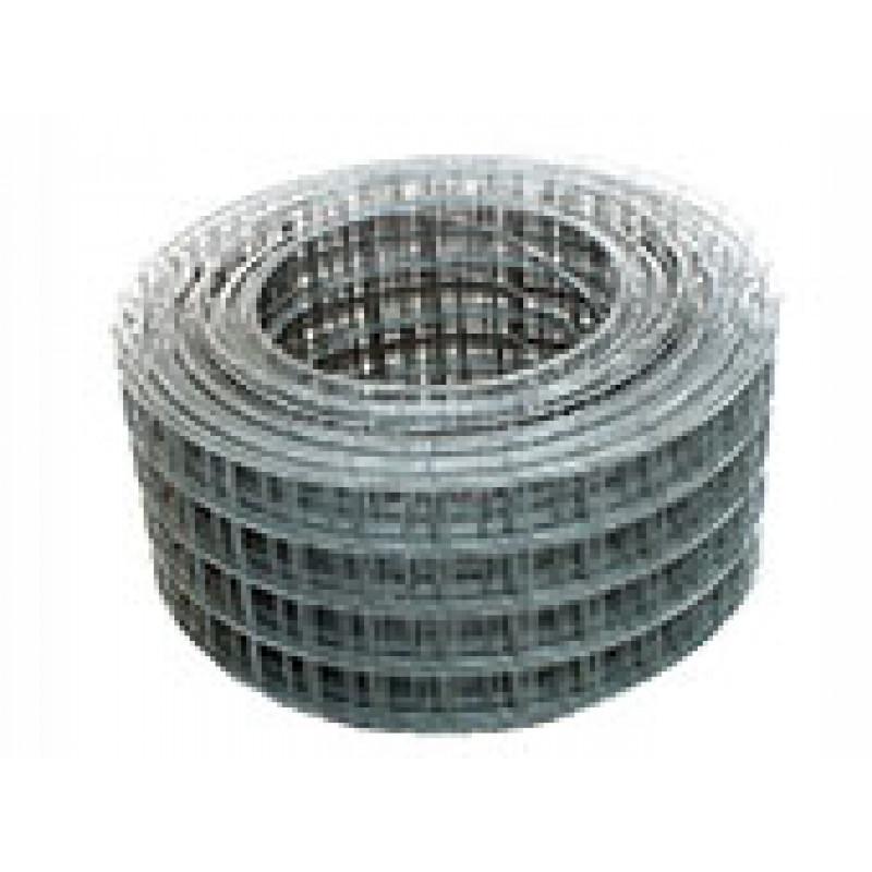 Сетка Сварная / Рулонная 0,3х30 Метр, Ячейка 50х50, Проволока 1,6мм