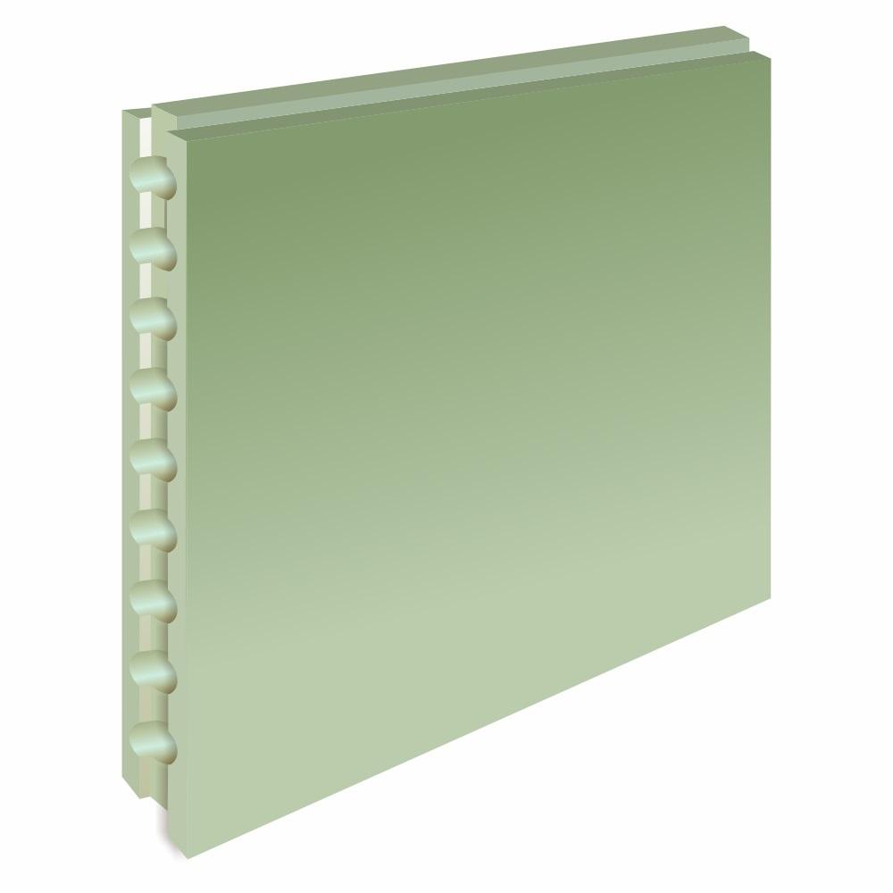 Пазогребневая плита Форман влагостойкая пустотелая 667х500х80 мм