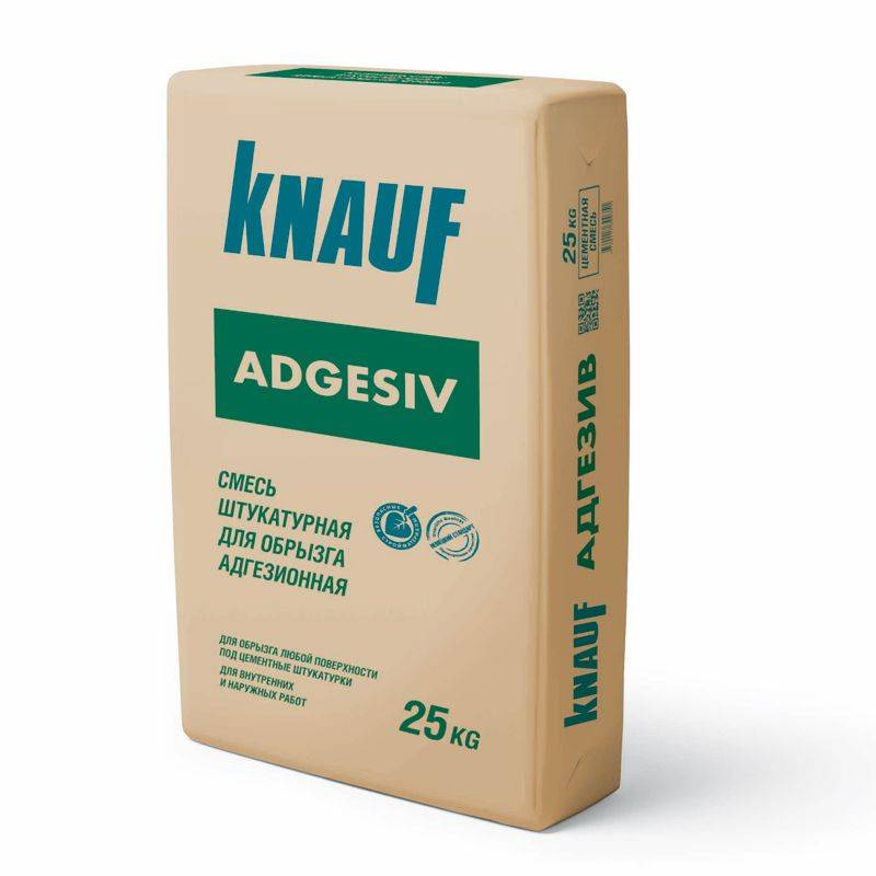 КНАУФ-АДГЕЗИВ Штукатурка цементная для обрызга адгезионная 25кг