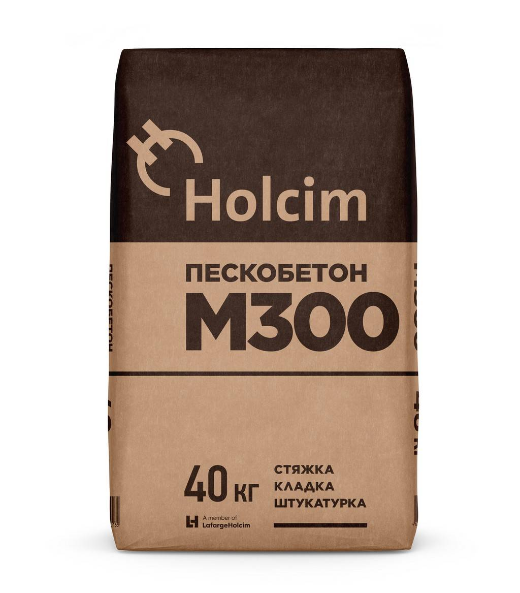 Холсим М300 пескобетон (Holcim) 40 кг