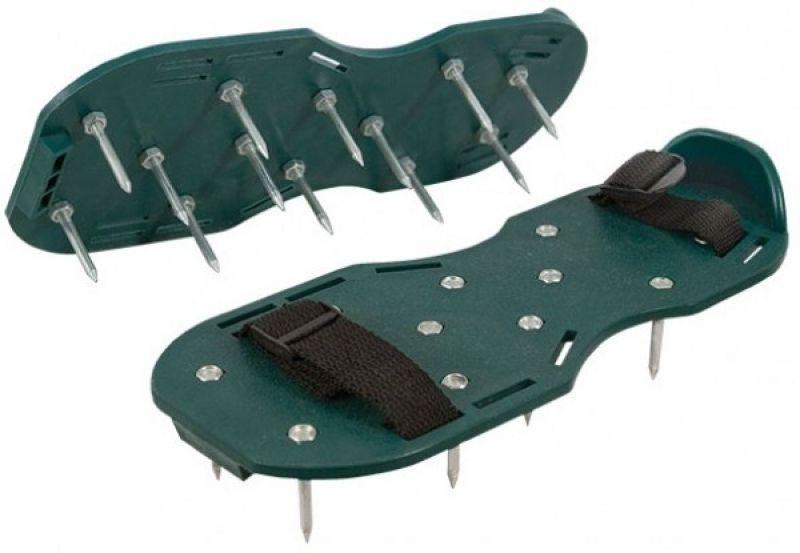 Шипованные насадки на обувь для наливного пола