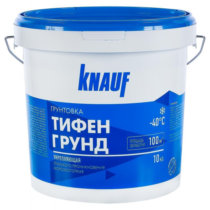 Knauf Тифенгрунд грунтовка поверхностная 10 л