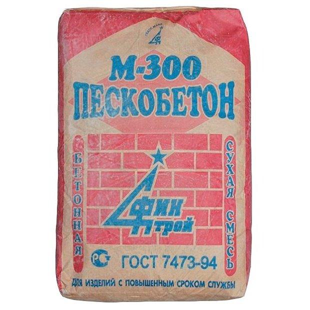 Сухая смесь Пескобетон М-300, 40кг.