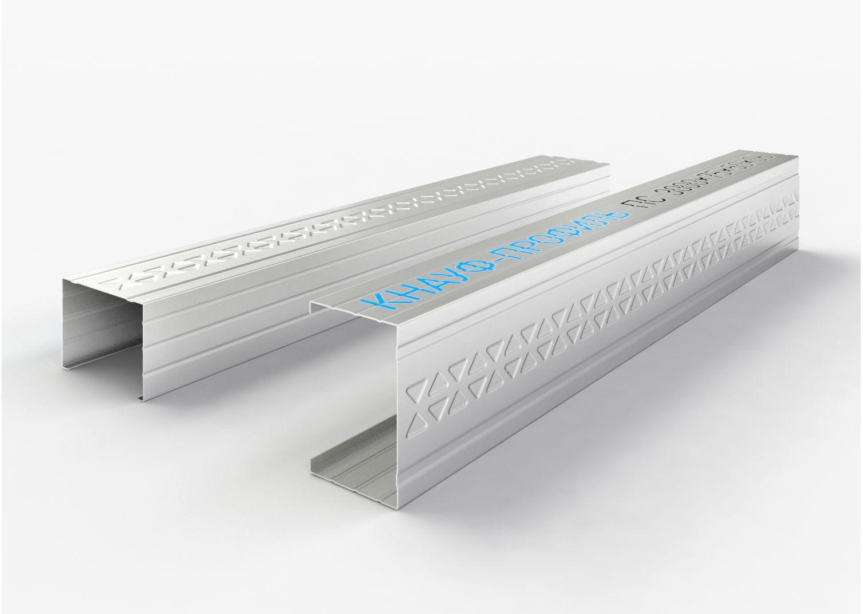 Профиль стоечный ПС 75х50х0,6мм (3м) КНАУФ