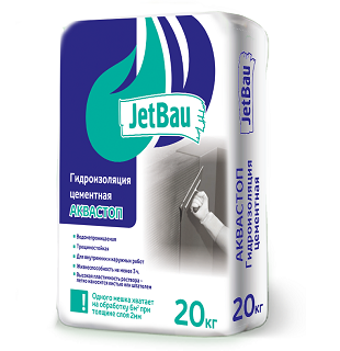 Гидроизоляция Аквастоп Джетбау 20кг