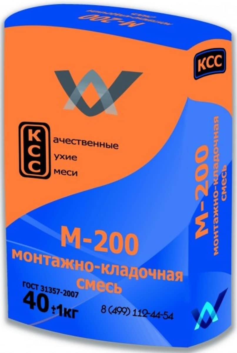 Универсальная смесь М-150 (40кг) КСС