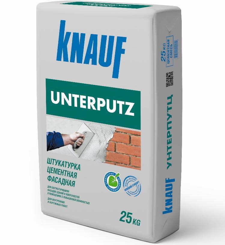 Фасадная цементная Штукатурка КНАУФ-Унтерпутц 25кг