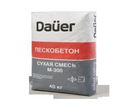 Сухая смесь М-300 Пескобетон DAUER Z-30