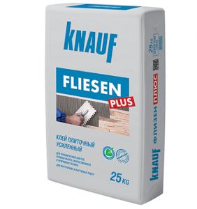Клей для плитки Кнауф Флизен плюс Knauf Fliesen PLUS 25кг