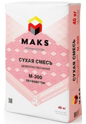 Пескобетон М-300 Макс, 40кг.