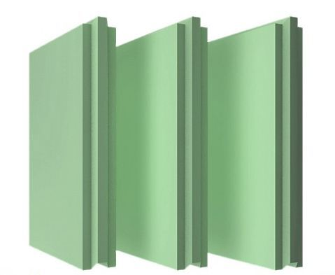 Пазогребневые плиты (Блоки) Русеан 667х500х80мм влагостойкие