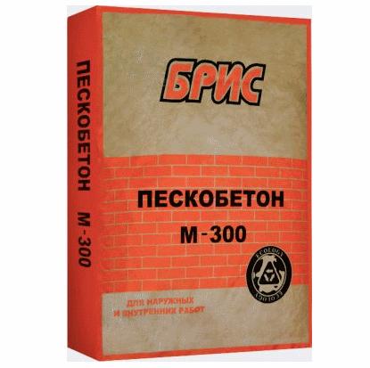 Пескобетон М300 БРИС, 40кг
