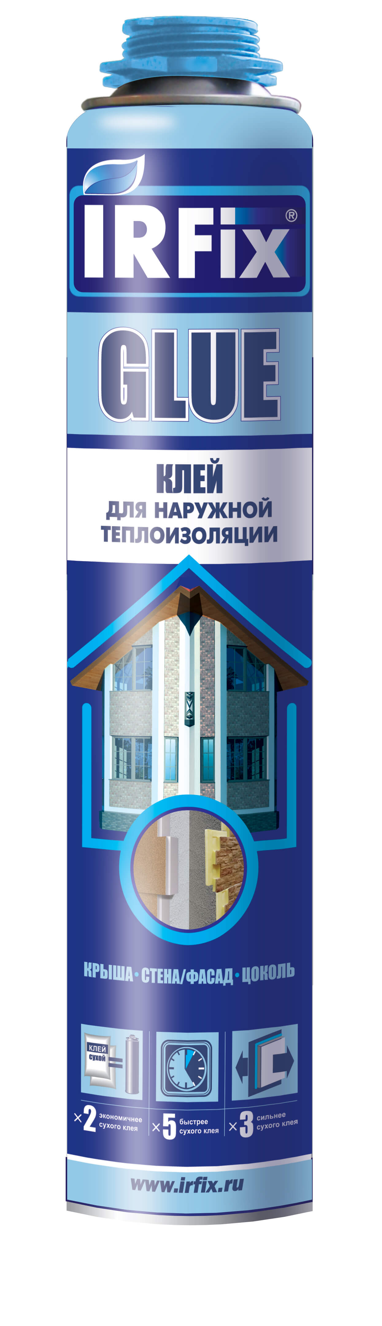Пена Клей Монтажная 750мл профессиональная