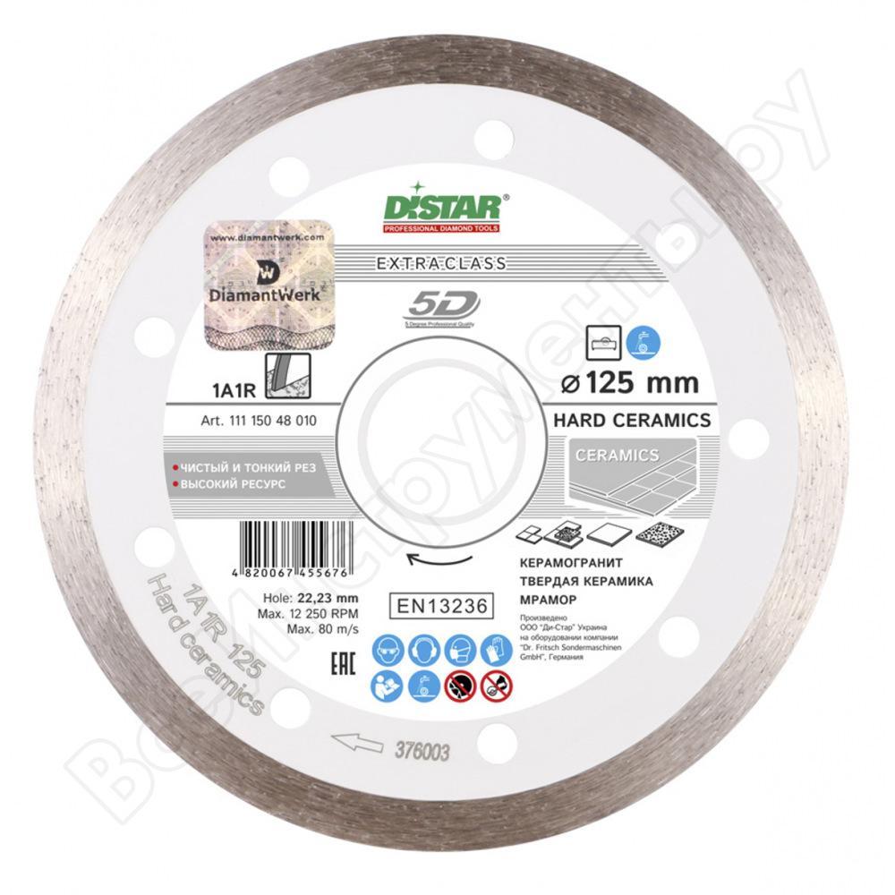 Алмазный диск Distar  Ceramics Ø125 мм