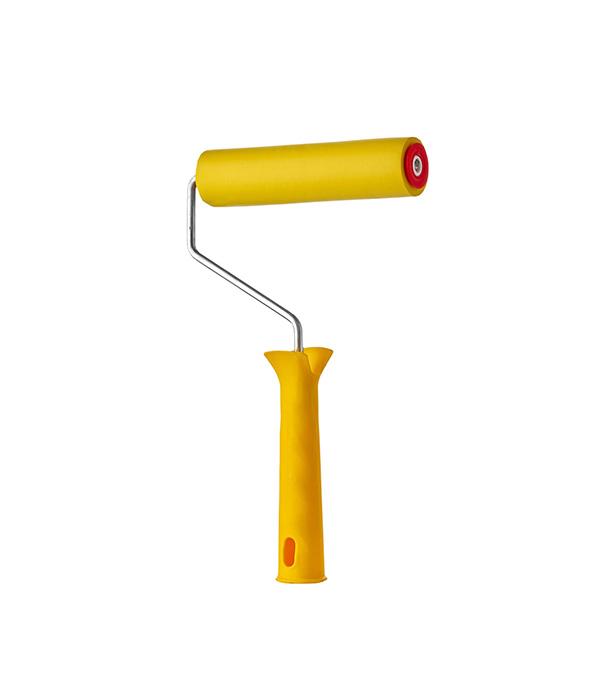 Валик прижимной резиновый с ручкой 175мм