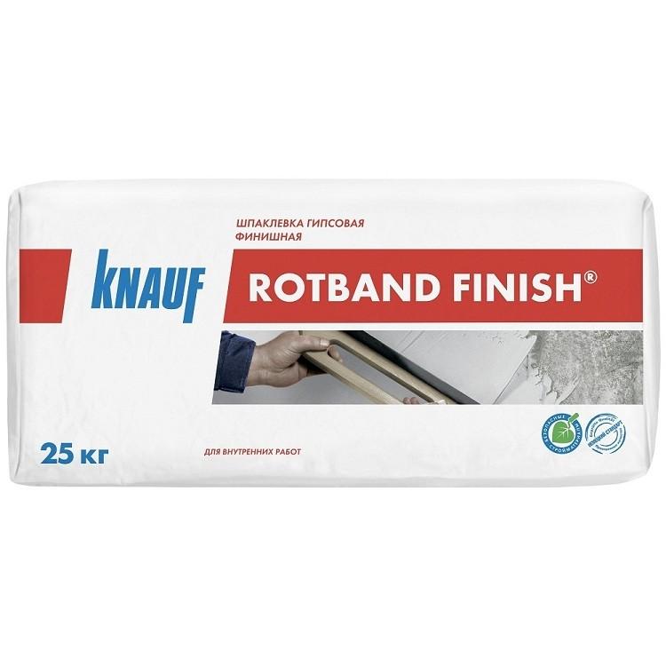 Шпатлевка финишная гипсовая Кнауф Ротбанд Финиш 25 кг