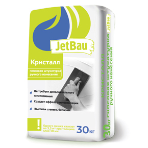 Гипсовая штукатурка JetBau Кристалл 30кг