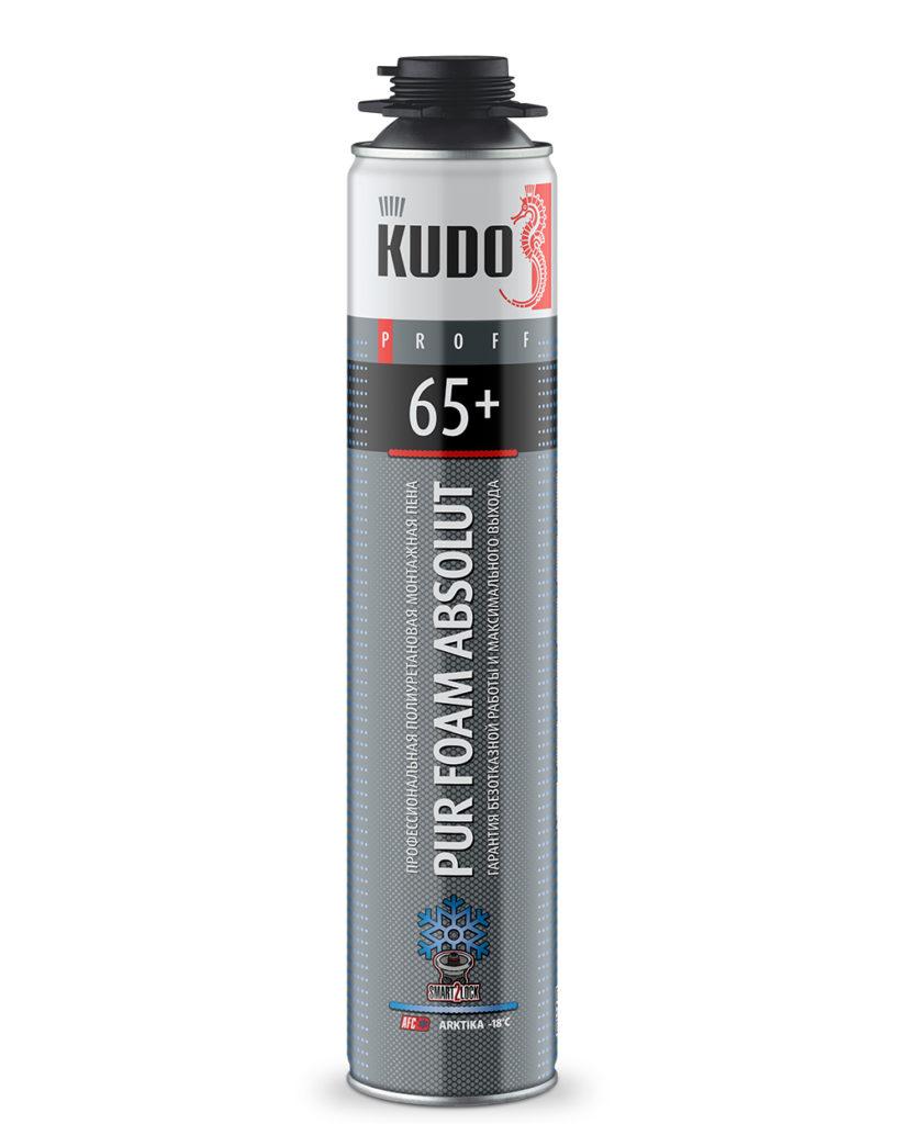 Монтажная пена Kudo Proff 65  профессиональная КУДО