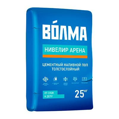 Наливной пол цементный Волма Нивелир Арена 25 кг