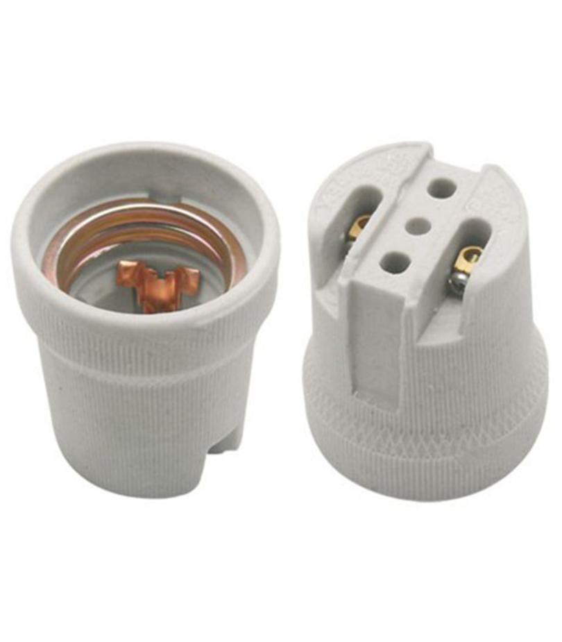 Патрон для лампы Е27  керамический