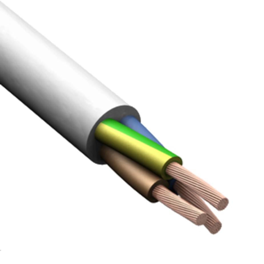 Провод многожильный ПВС 3х1,5 ГОСТ