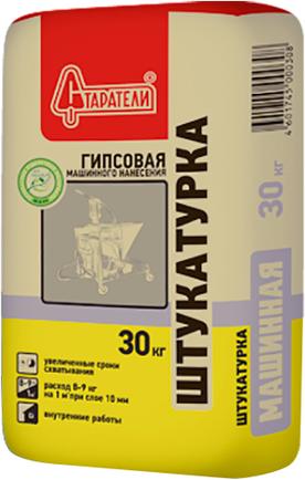 Старатели штукатурка гипсовая для машинного нанесения 30 кг (белая)
